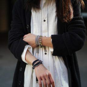 ANN DEMEULEMEESTER Bracelet Stones