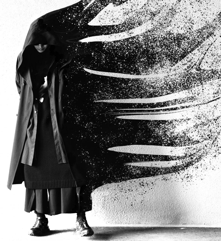 YOHJI YAMAMOTO 18-19A/W Outer Style