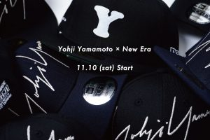 YOHJI YAMAMOTO × NEW ERA Coming Soon…!!!