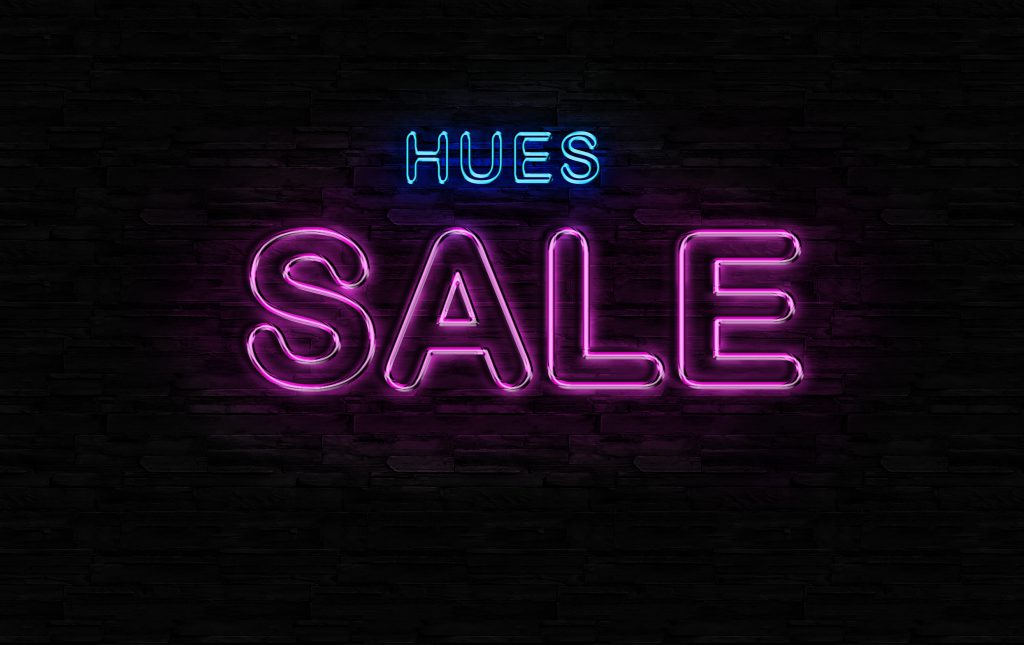 HUES AUTUMN / WINTER SALE 12.22(SAT)  START