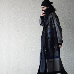 YOHJI YAMAMOTO Asymmetry Long Jacket