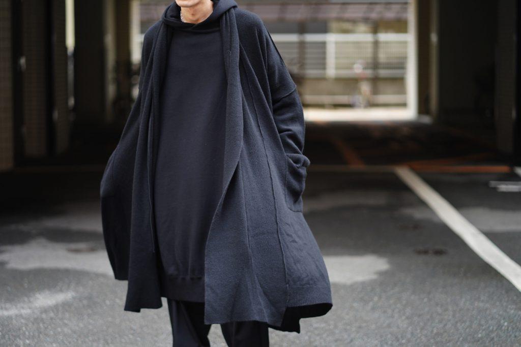 RAGNE KIKAS for YOHJI YAMAMOTO Zip Up Knit