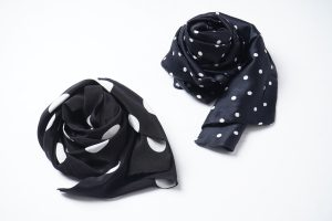 Geoffrey B.Small  3type Silk Scarf