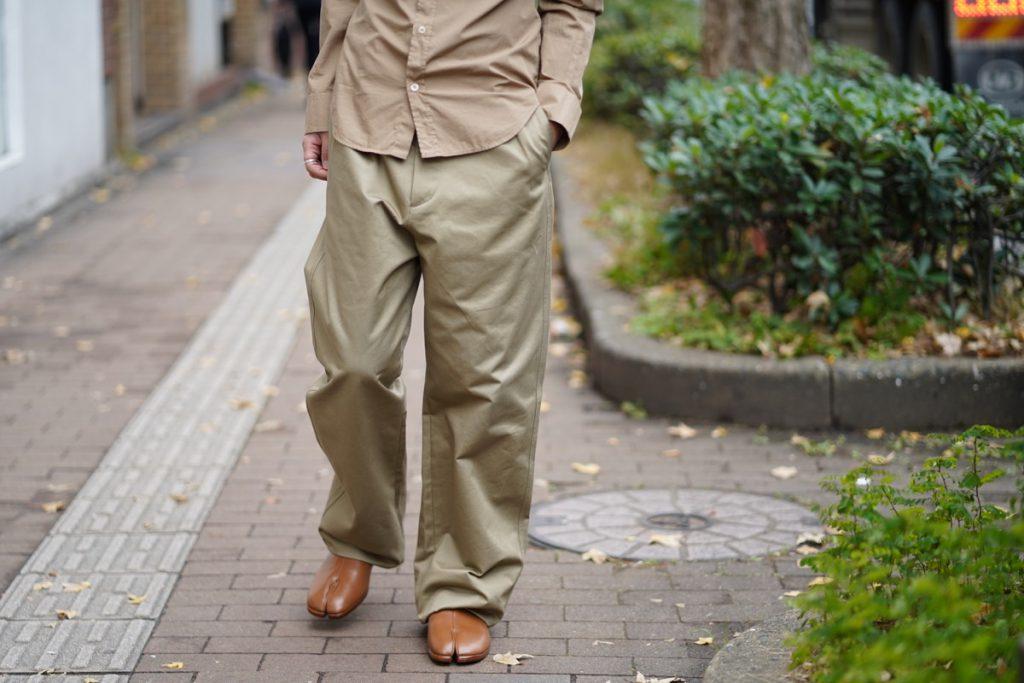MAISON MARGIELA Wide Chino Pants