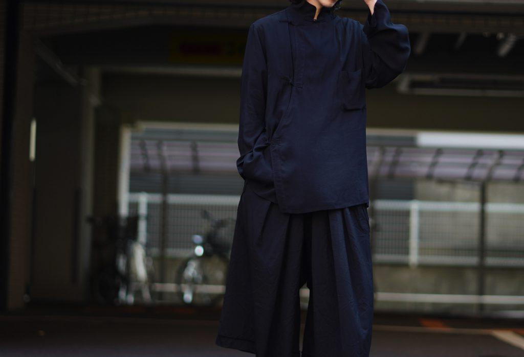 YOHJI YAMAMOTO Braid Button Shirt