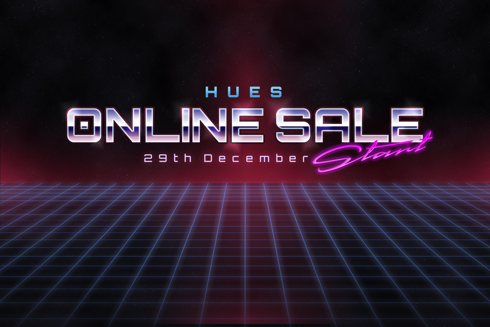 HUES ONLINE SALE  12.29 START!!