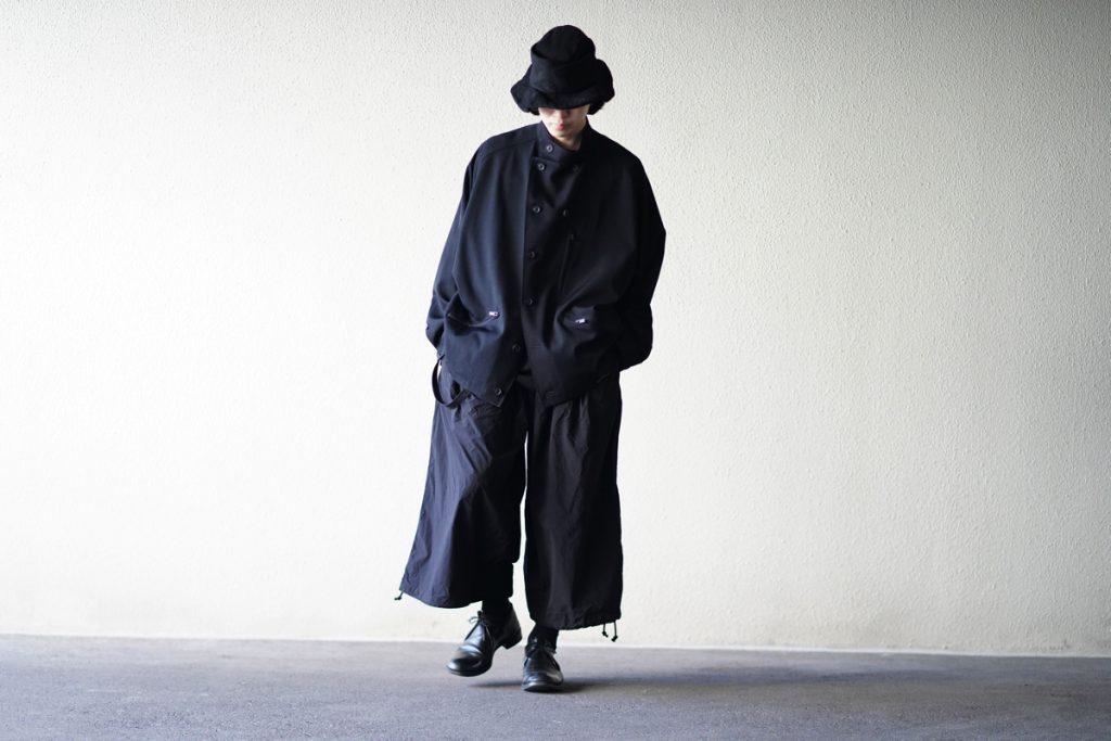YOHJI YAMAMOTO Stand Up Collar Topper