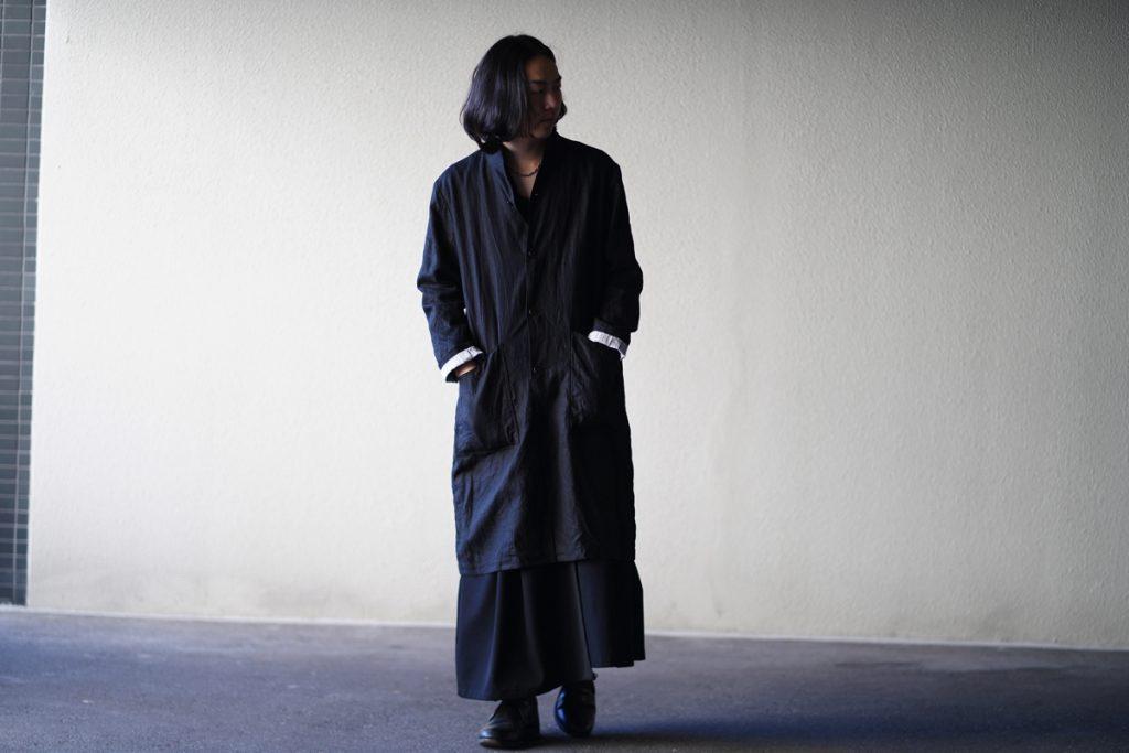ARAKI YUU 19S/S Linen Atelier Coat