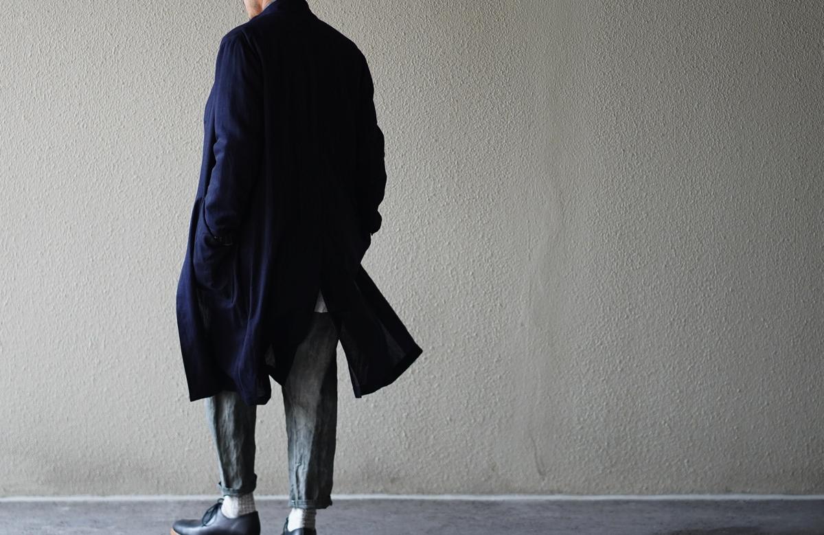 ARAKI YUU 19S/S Wool Atelier Coat