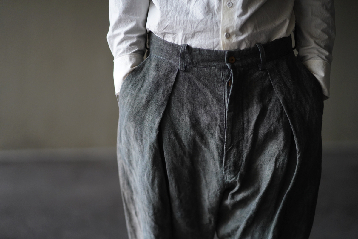 ARAKI YUU 19S/S Cropped Pants