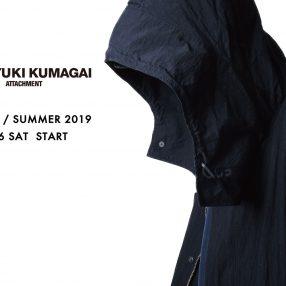 KAZUYUKI KUMAGAI 2019 Spring / Summer 1.26 Sat START!!!