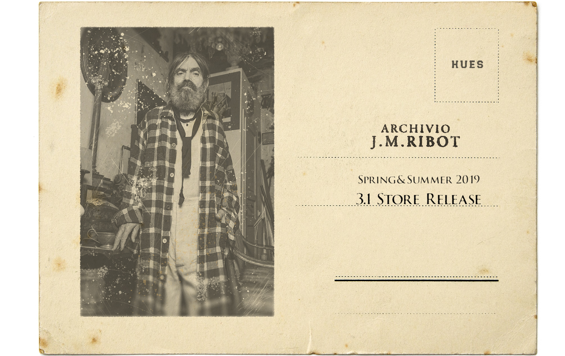 ARCHIVIO J.M.Ribot  SPRING&SUMMER 2019  3.1 Store Release