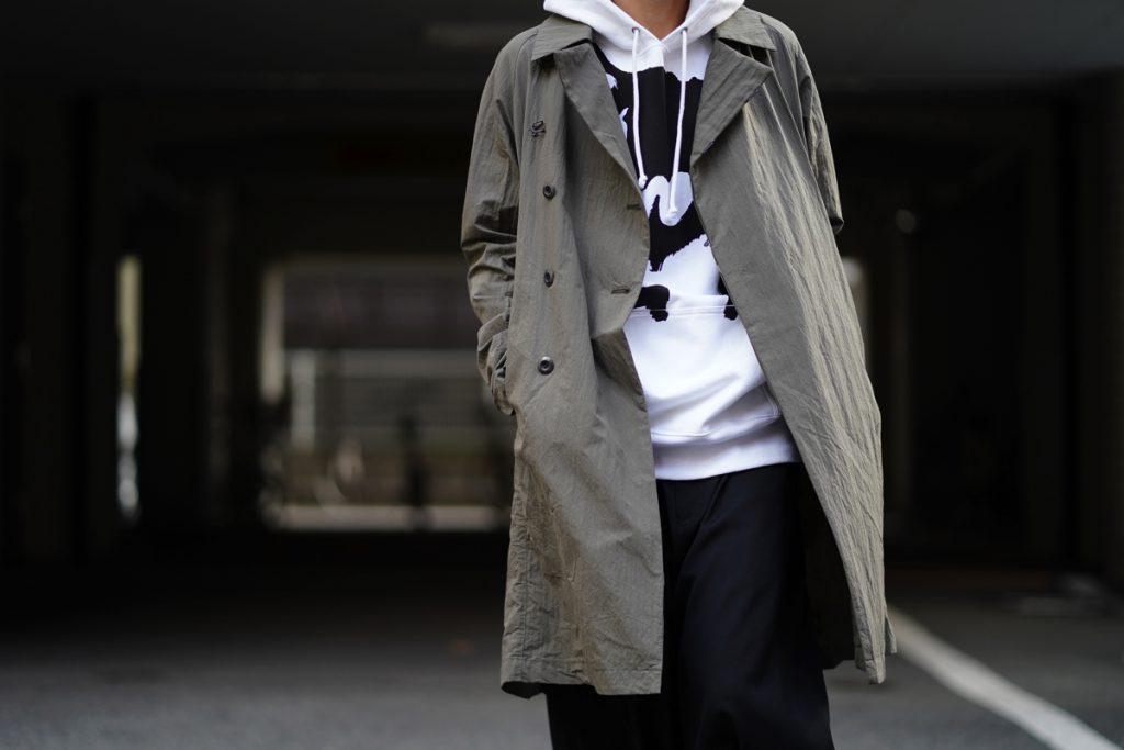 KAZUYUKI KUMAGAI 19SS Double-Breasted Long Coat