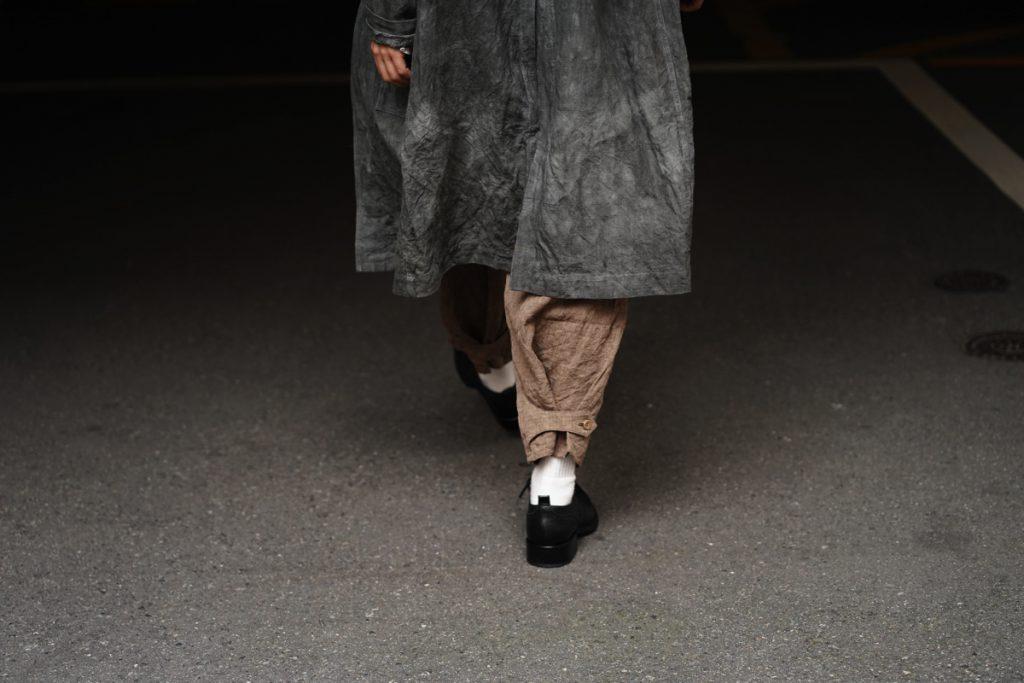ARAKI YUU 19SS Mud-dyed Baggy Pants