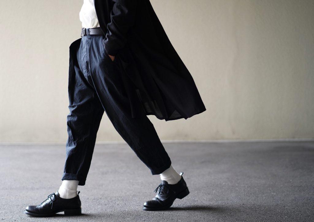ARAKI YUU 19SS C/Ny Cropped Pants