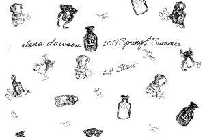 ELENA DAWSON  SPRING&SUMER2019 2.9 START.