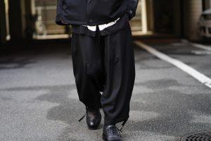YOHJI YAMAMOTO 19SS Basic Sarouel Pants