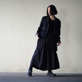 YOHJI YAMAMOTO Products Dyed Hakama Pants