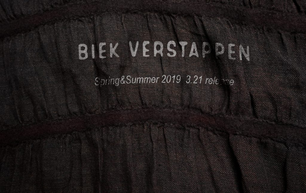 BIEK VERSTAPPEN  SPRING&SUMMER 2019  3.21 Store release