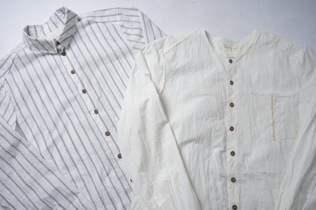 ARAKI YUU 19SS New Arrival Raw Cut Shirt 2type