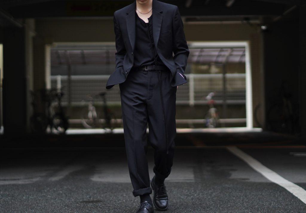 YOHJI YAMAMOTO COSTUME D'HOMME Suit Style