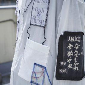 YOHJI YAMAMOTO 19S/S Patchwork Shirt
