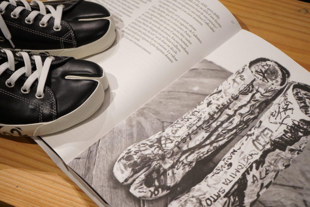 Maison Margiela Leather Tabi Sneaker