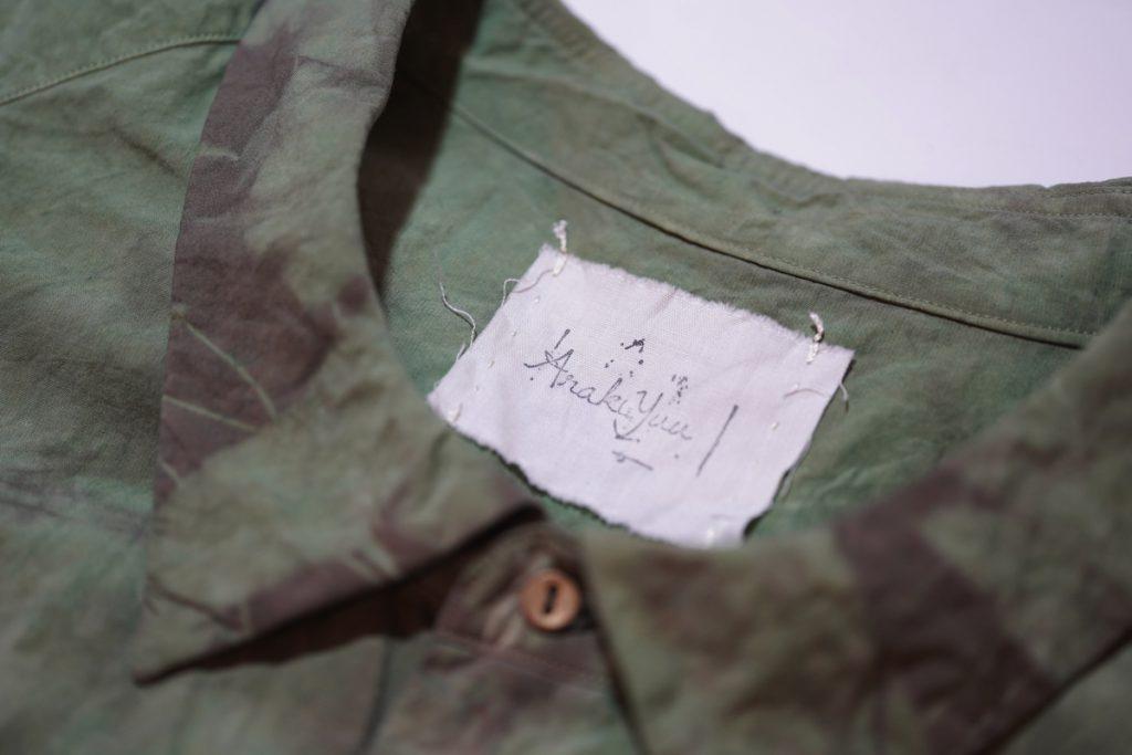 ARAKI YUU 19SS Double Dyed Sleep Shirt