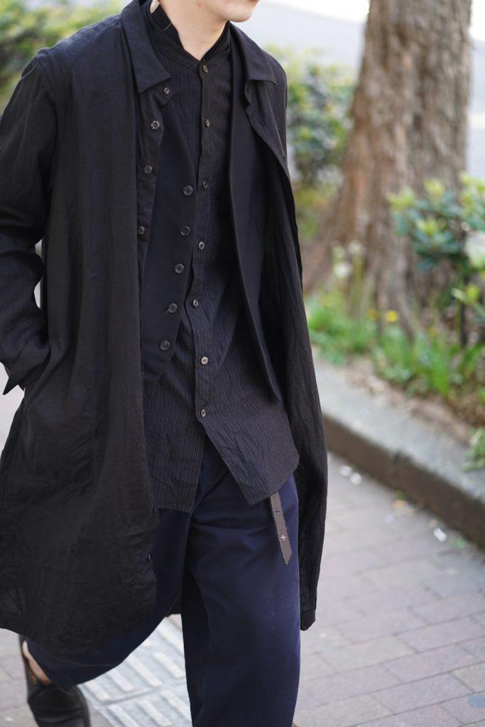 ARAKI YUU 19SS Linen Sleep Shirt