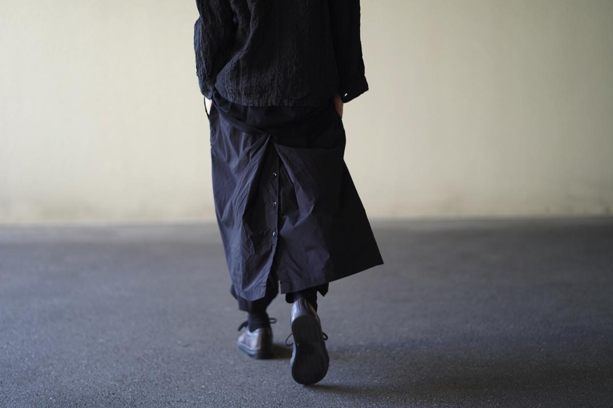 YOHJI YAMAMOTO 19S/S Products Dyed Wrap Pants