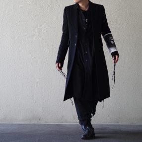 ANN DEMEULEMEESTER 19S/S Coat Lainecotton