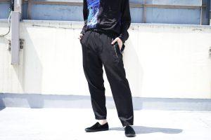 YOHJI YAMAMOTO Tight Fastener Pants