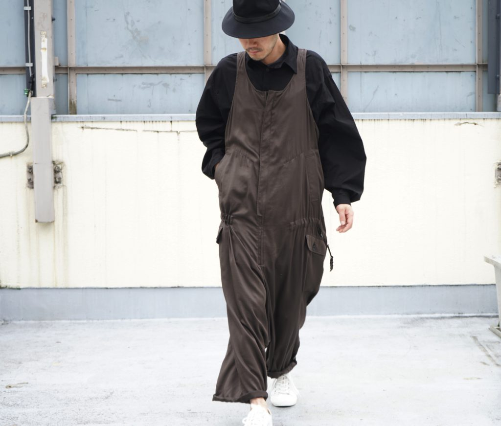 YOHJI YAMAMOTO Zip Up Overall
