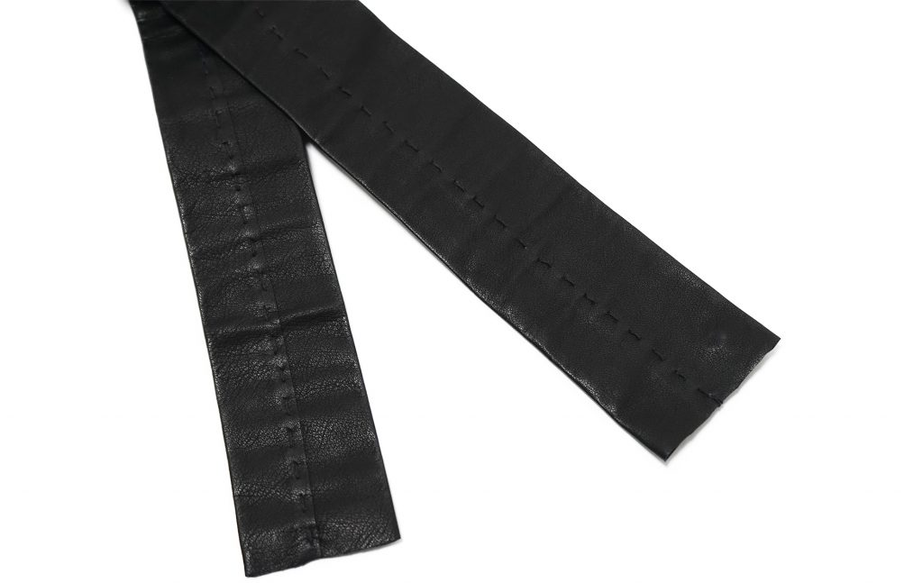 m.a+ 1 piece leather tie