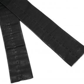 m.a+ 1 piece leather tie