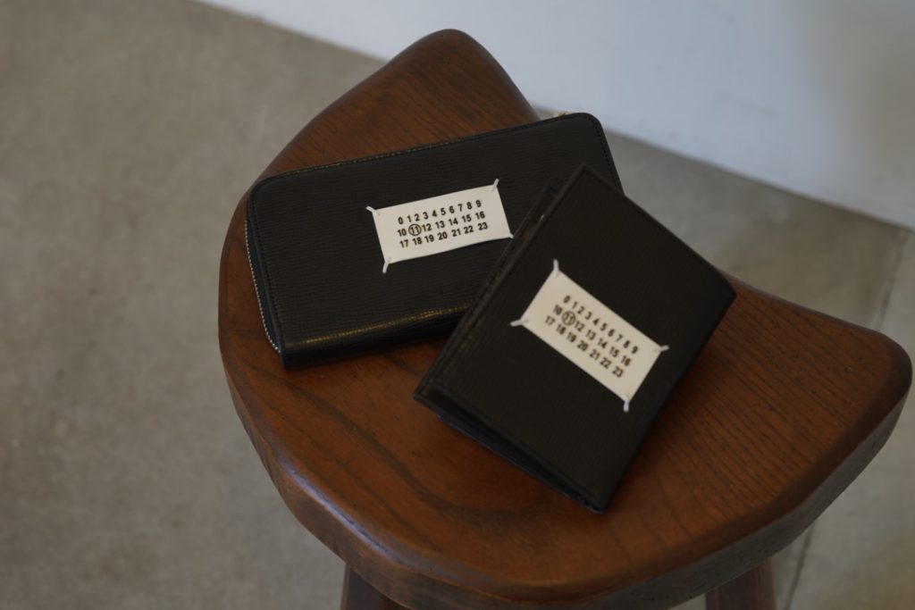 Maison Margiela  Tag Leather Wallet