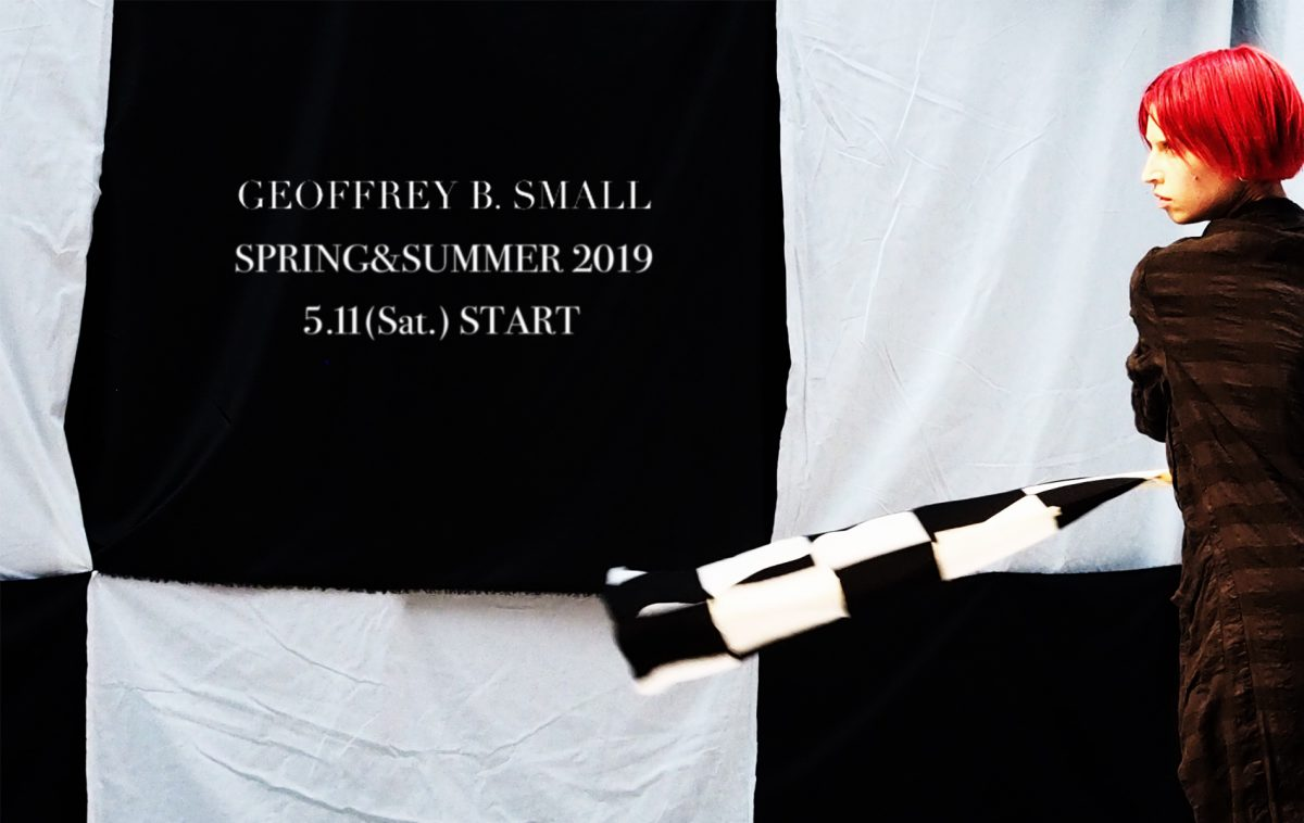 Geoffrey B.Small  spring&summer 2019 collection  5.11 START.