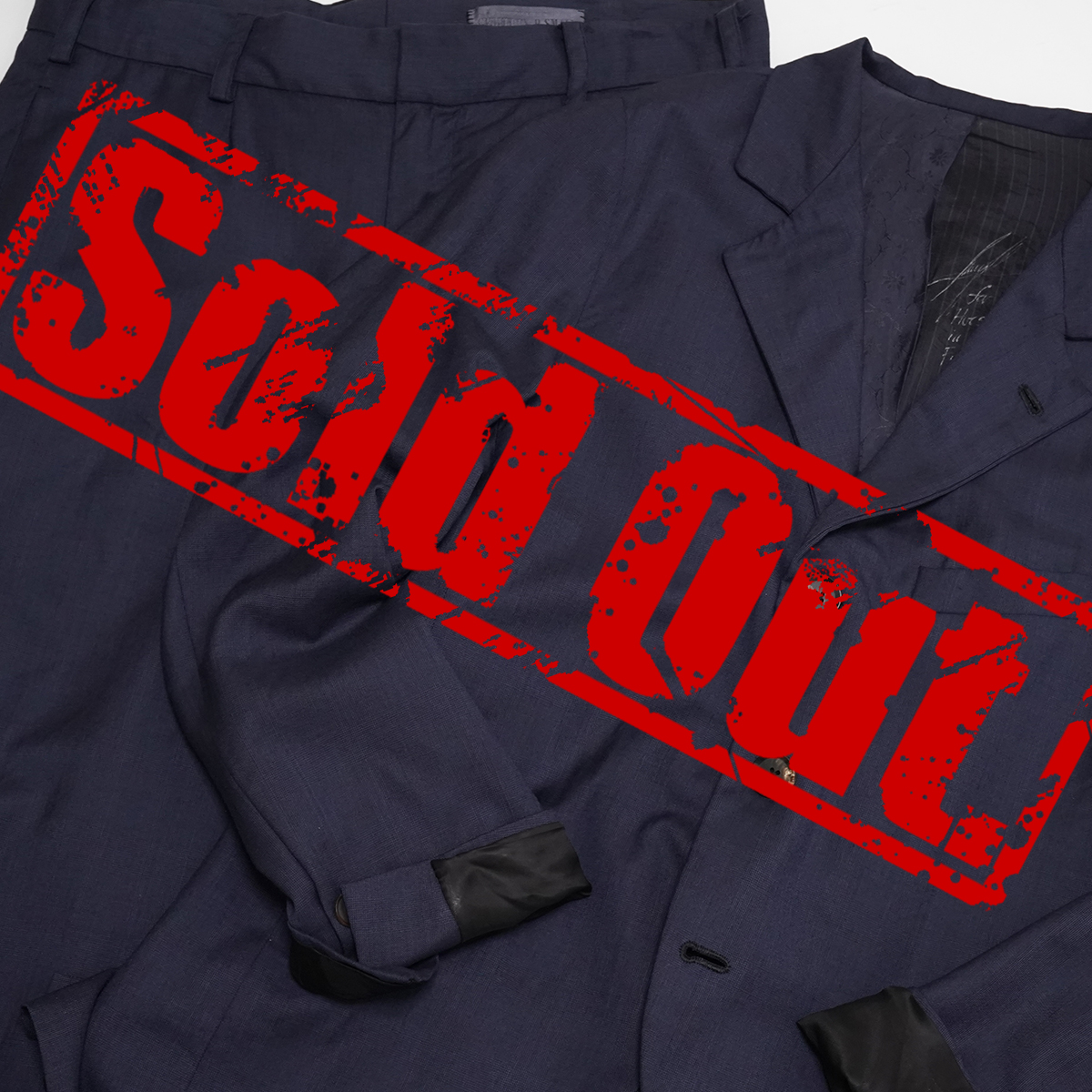 """Geoffrey B.Small Piacenza Super 150's """"Emotions"""" Navy Jacket&Trousers"""