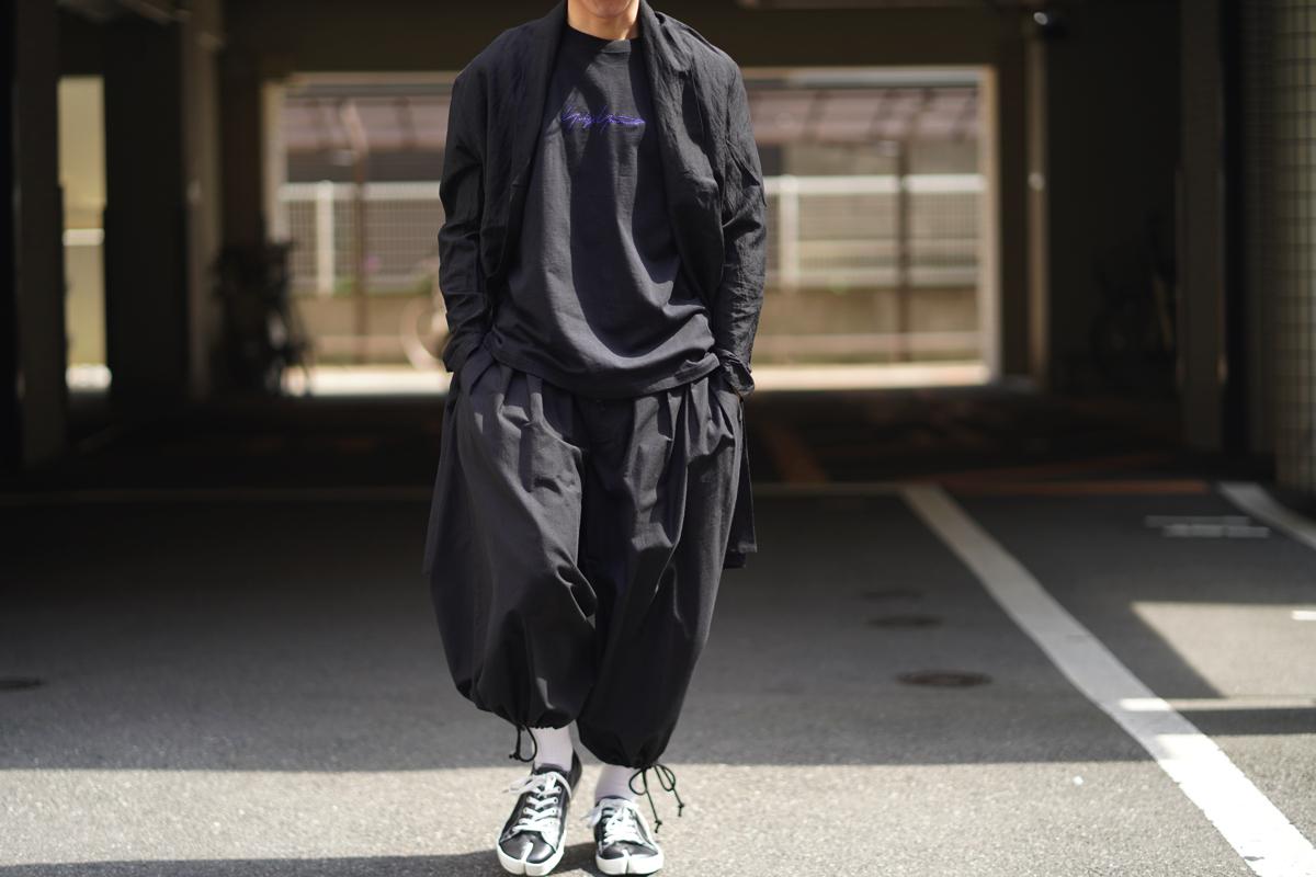 YOHJI YAMAMOTO Cotton Twill Balloon Pants