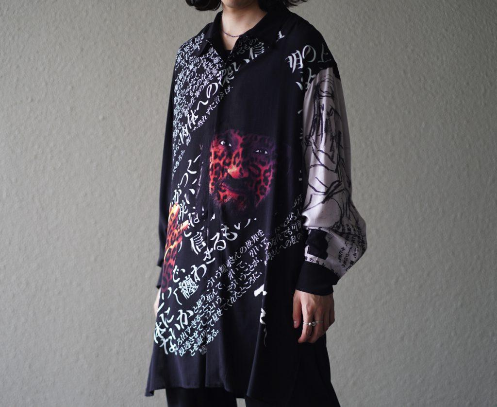 YOHJI YAMAMOTO Message Shirt