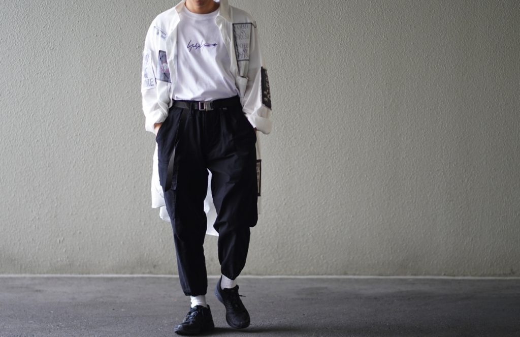 YOHJI YAMAMOTO Rib Cargo Pants