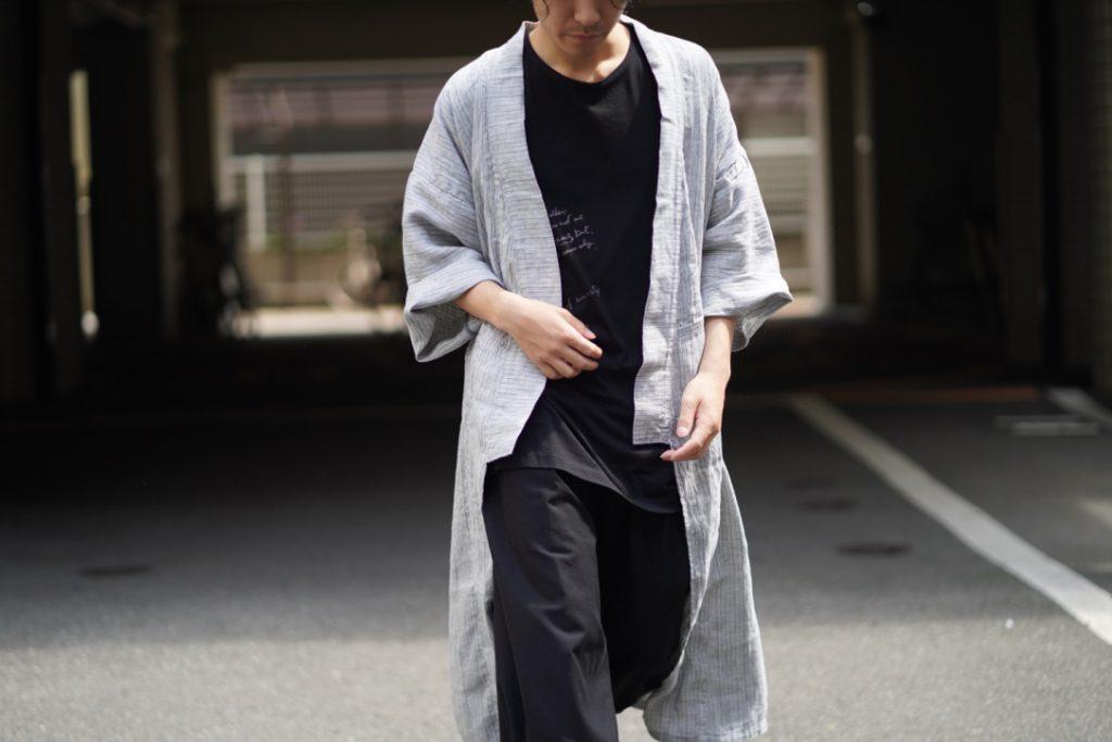Porter Classic Linen Stripe Yabo Yukata