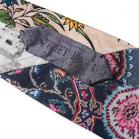 Geoffrey B.Small  3type classic style patchwork tie