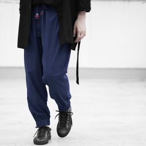 Geoffrey B.Small  oversize drawstring modified fisherman's trouser