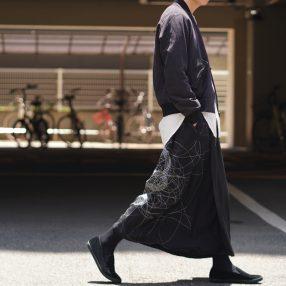YOHJI YAMAMOTO Scull Cobra Wrap Skirt