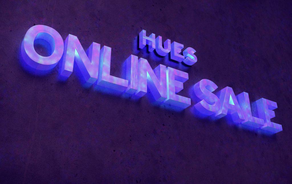 HUES ONLINE SALE  6.28 START