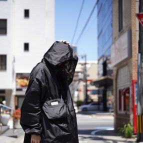 Maison Margilea  Nylon Big Parka