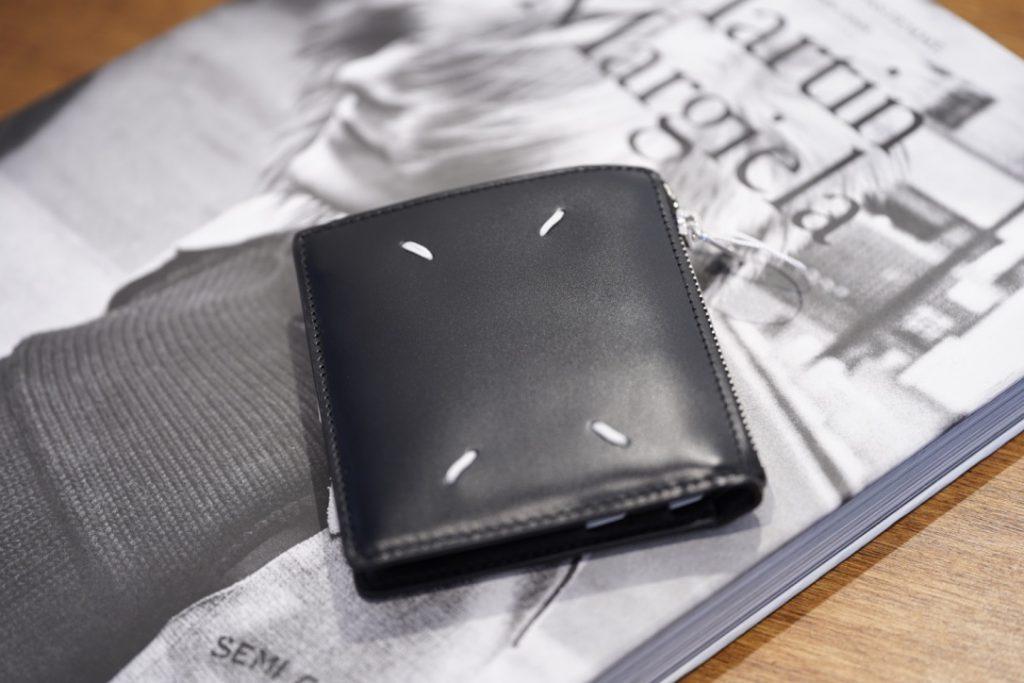 Maison Margiela Small Leather Zip Wallet