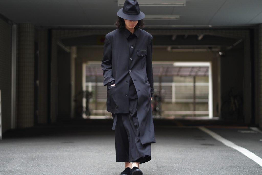YOHJI YAMAMOTO Unbalance China Jacket