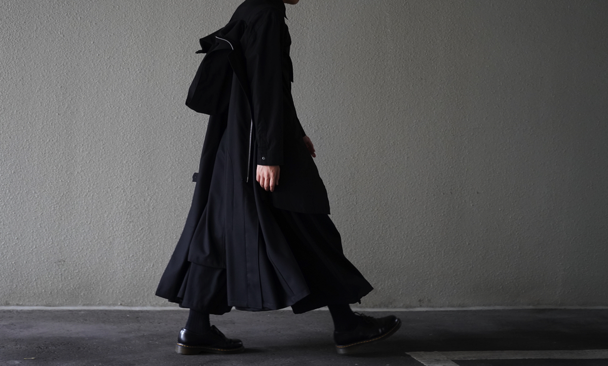 Ground Y Carry Cloak